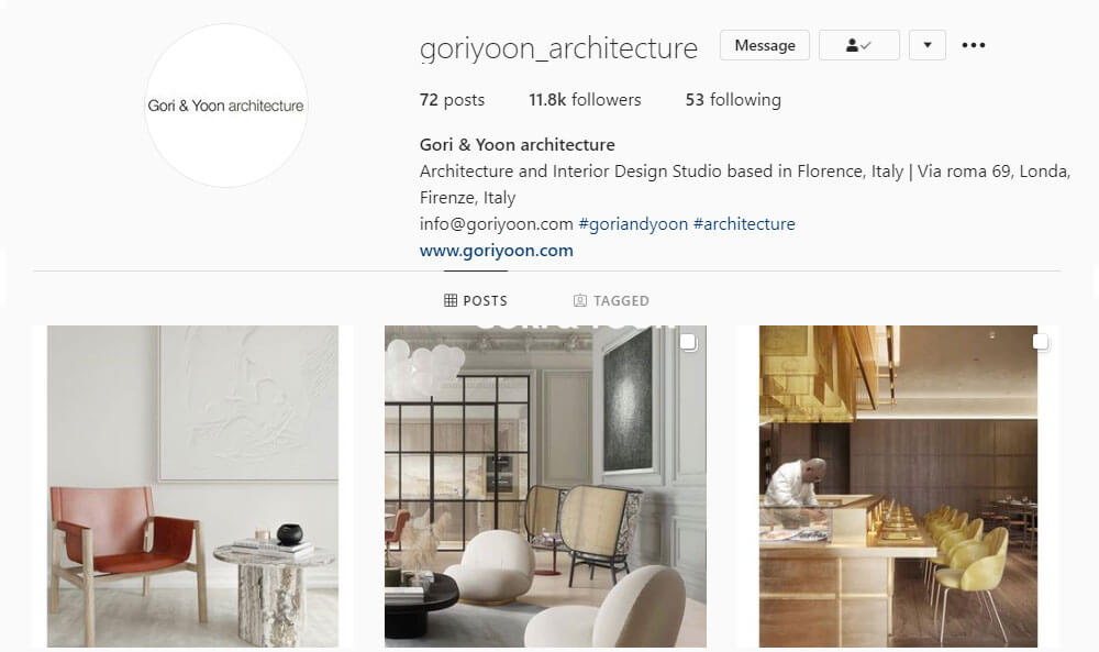 interior design firms in florence italy