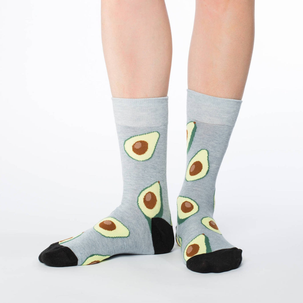 Good Luck Sock - Avocado