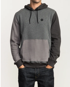 RVCA Colour-blocked Hoodie - Ruddy Hood