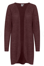 Load image into Gallery viewer, ICHI Open Front Cardigan - Iholanda