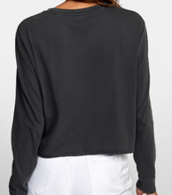 Load image into Gallery viewer, RVCA Cropped Shirt - PTC Long Sleeve