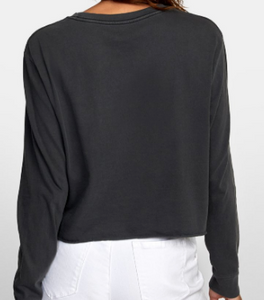 RVCA Cropped Shirt - PTC Long Sleeve