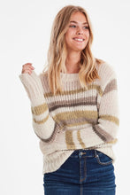 Load image into Gallery viewer, B.Young Knitted Pullover Sweater - Bynalbo
