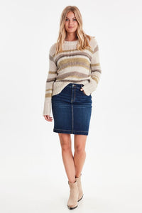 B.Young Knitted Pullover Sweater - Bynalbo