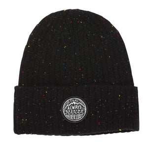 Coal The Oaks Speckle Ribbed Knit Cuff Beanie