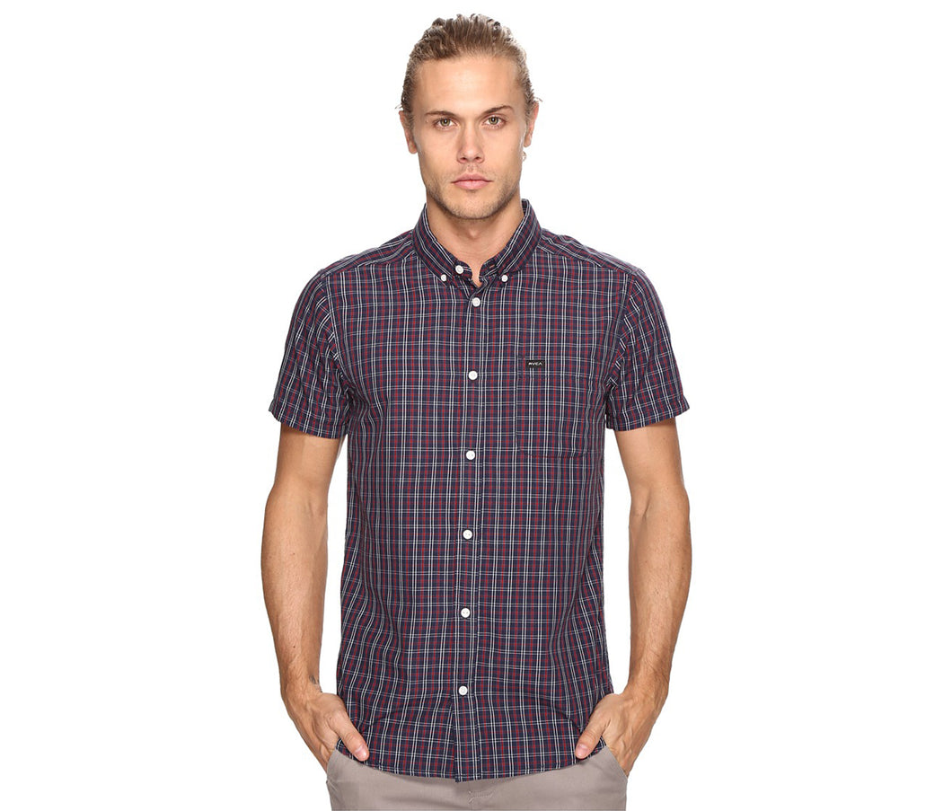 RVCA men's s/s button up - That'll DO