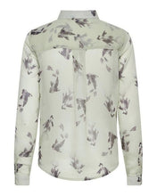 Load image into Gallery viewer, ICHI Celeste Long Sleeve Sheer Top