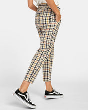 Load image into Gallery viewer, RVCA High Waisted Tapered Pants - Tetras