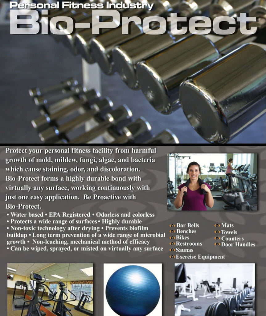 Sanitize and Disinfect Health and Fitness Facilities