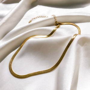 Sade Snake Necklace - One of Sevyn Collection