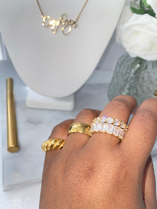 Everlasting Baguette Ring - One of Sevyn Collection