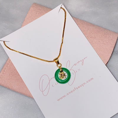 Mini Lucky Jade Chain - One of Sevyn Collection