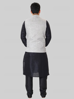 Royal Blue Kundan Earring Tikka Set
