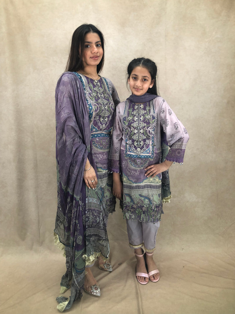 Pink Earrings & Tikka Set - Sai Fashions (UK) Ltd.