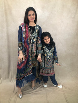 Lime Earrings & Tikka Set - Sai Fashions (UK) Ltd.