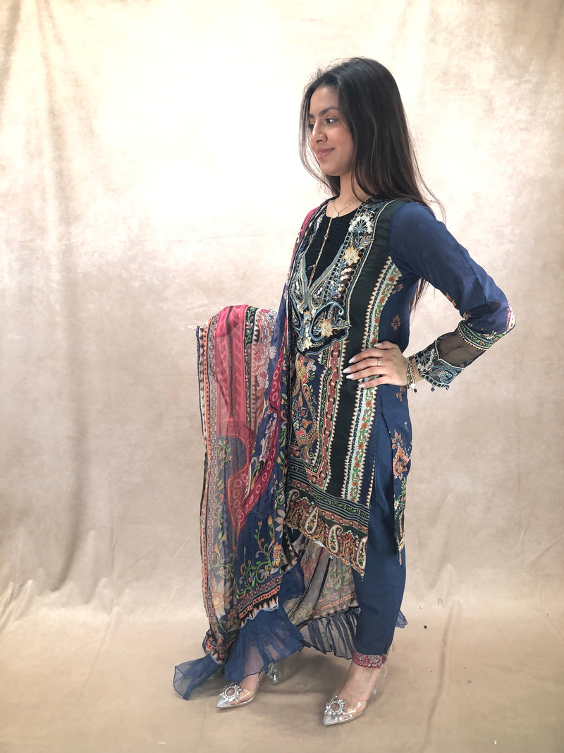 Pearl Earrings & Tikka Set - Sai Fashions (UK) Ltd.