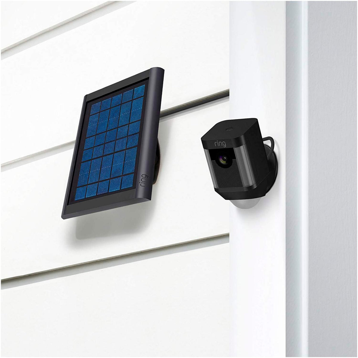Ring Panel Solar Panel Solar compatible con Spotlight Cam o Stick Up Cam - vertikal