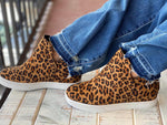"Load image into Gallery viewer, Boutique Leopard Bootie - ""Jersey"""