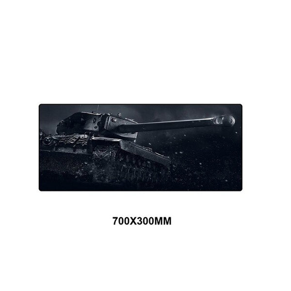 World of Tanks Computer Durable Gaming Mouse Pad - 70x30cm-Giant Mouse Pad Store