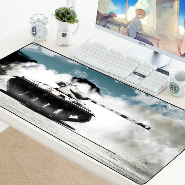World of Tanks Computer Durable Gaming Mouse Pad - 70x30cm