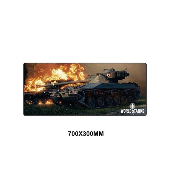 World of Tanks Gaming Mouse Pad - 70x30cm-Giant Mouse Pad Store
