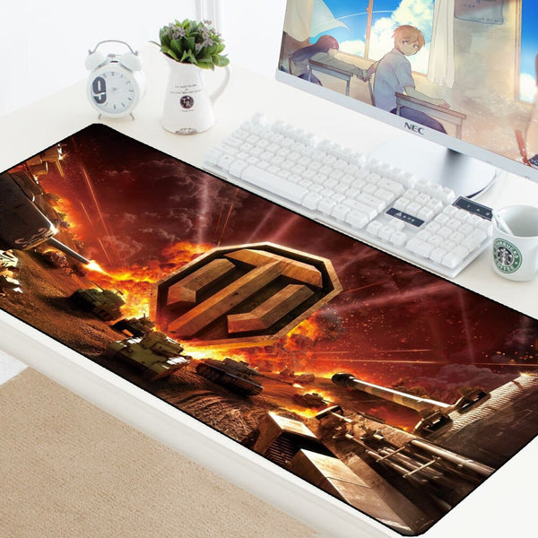 World of Tank Gaming Giant Mouse Pad - 70x30cm-Giant Mouse Pad Store