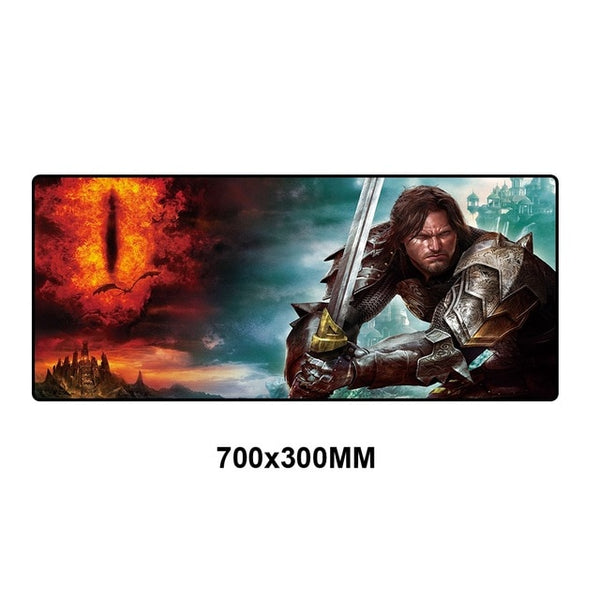 Lord of the Rings XL Mouse Pad - 70x30cm-Giant Mouse Pad Store