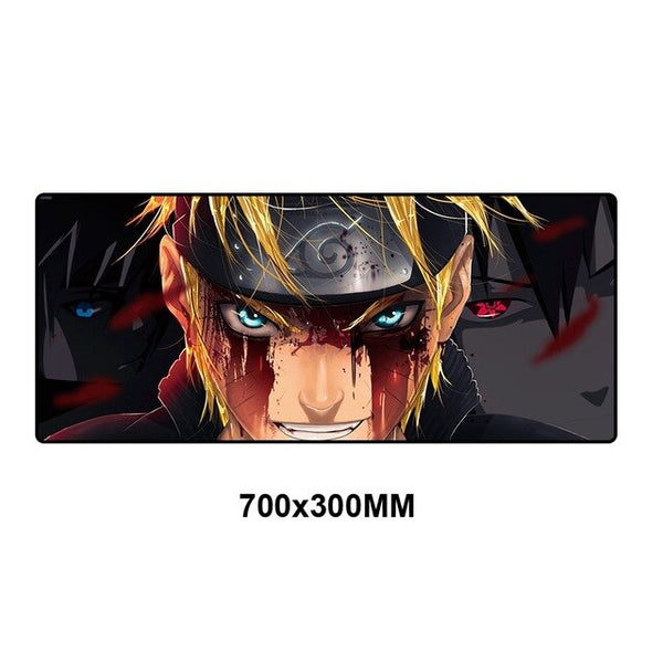 Anime Naruto High Quality Mouse Pad - 70x30cm-Giant Mouse Pad Store
