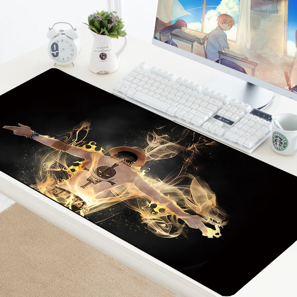 One Piece Anime XXL Durable High Quality Mouse Pad - 70x30cm-Giant Mouse Pad Store