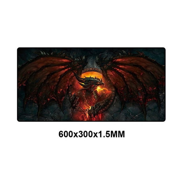 World of Warcraft Collection Large Gaming Mouse Pad - Various Sizes
