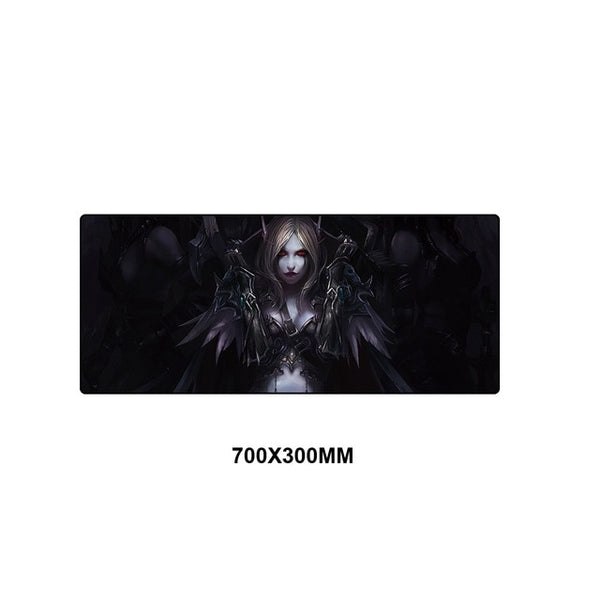 WOW World of Warcraft Large Gaming Mouse Pad - 70x30cm