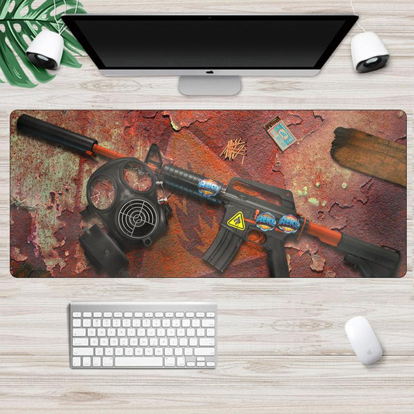 CSGO Counterstrike Large Durable Rubber Gaming Mouse Pad  - 70x30cm