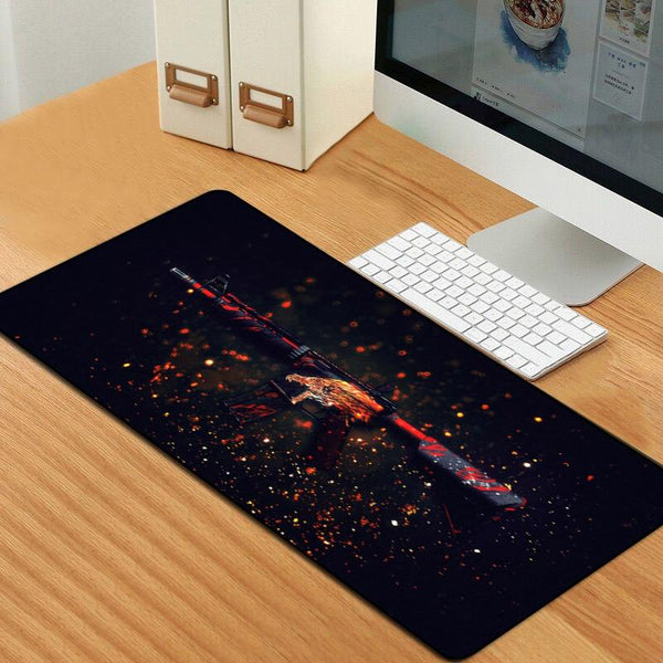 CSGO Guns Large Durable Gaming Mouse Pad - 80x30cm