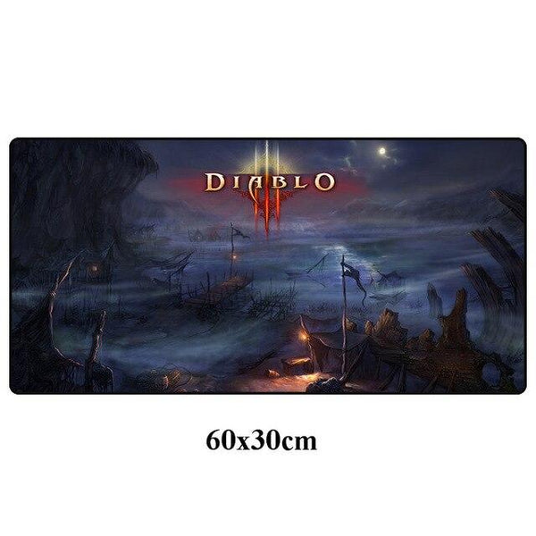 DIABLO Ⅲ Large Gaming Mouse Pad With Locking Edge - 60x30cm