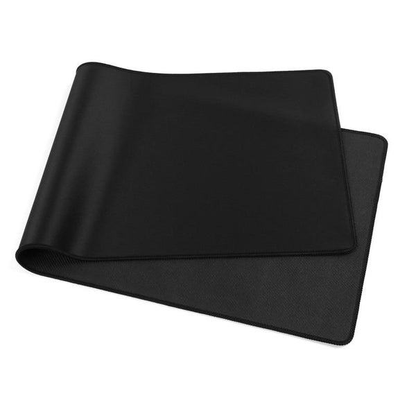 Large Art All Black /White XXL Rubber Computer MousePad - Various Sizes