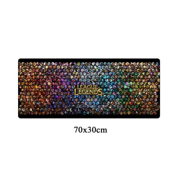 League of Legends Collection - Large Durable 70x30cm Rubber Gaming Mousepad - Giant Mouse Pad Store