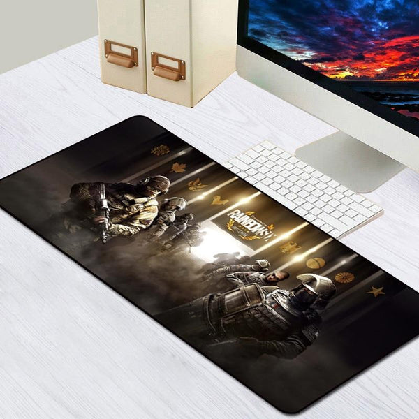 Rainbow Six Siege Rubber Lock Edge Large Gaming Mouse Pad - Various Sizes