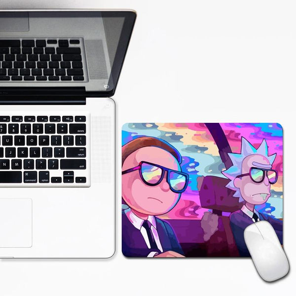 Rick And Morty Collection High Quality Durable XXL Mouse Pad - Various Sizes