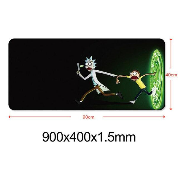 Rick And Morty Durable High Quality XL Mouse Pad - Various Sizes