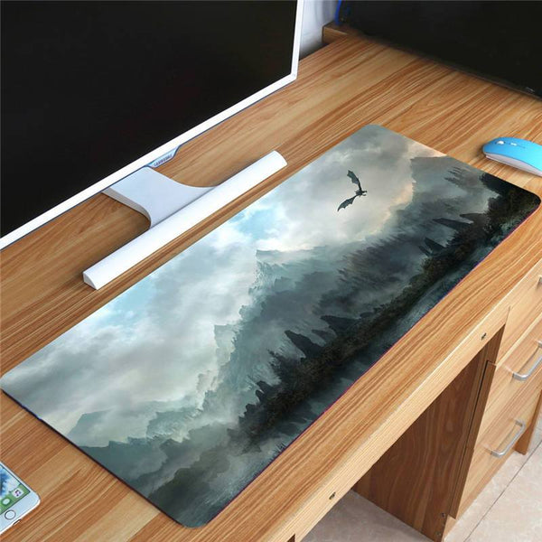 The Elders Scroll Skyrim Collection - Extra Large Gaming Rubber Mouse Pad 70x30cm
