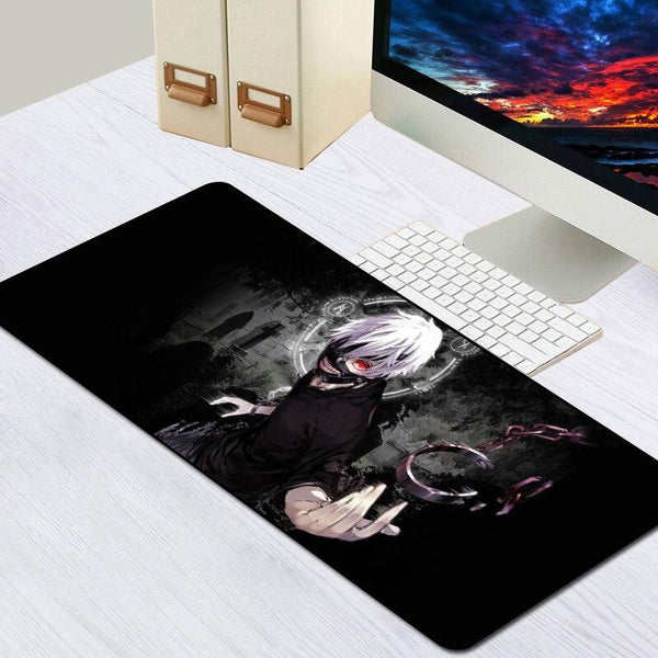 Tokyo Ghoul Anime Rubber Gaming Mouse Pad - 80x30cm