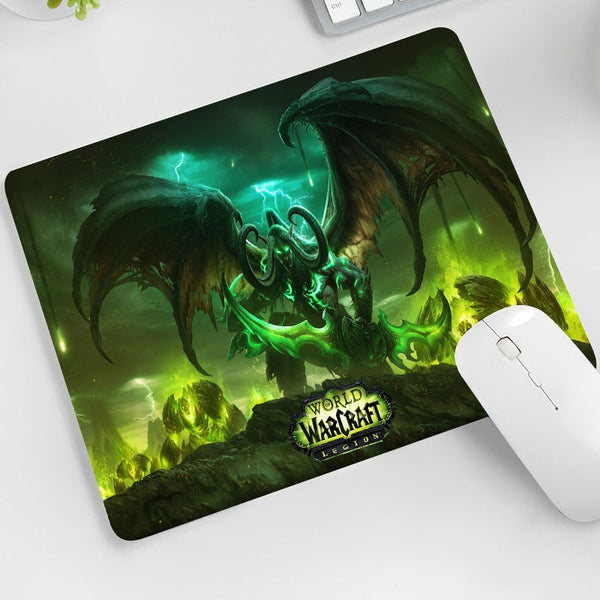 World of warcraft Anti Slip Laptop Computer Mousepad - Various Sizes