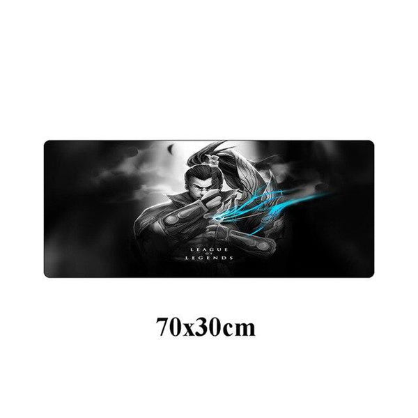 Yasuo The Unforgiven League Of Legends Large Gaming Mouse Pad  - 70x30cm
