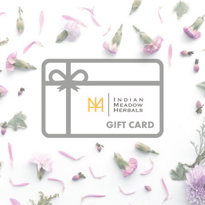 Indian Meadow Herbals Gift Card