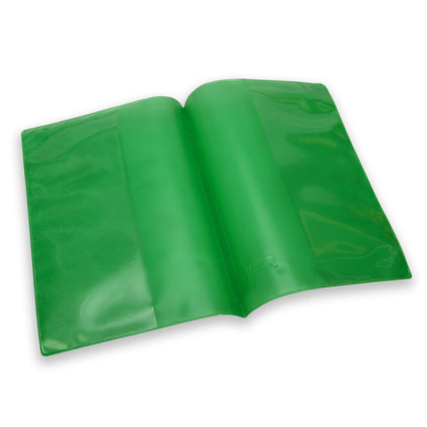 A5 Plastic Exercise Book Cover - Green