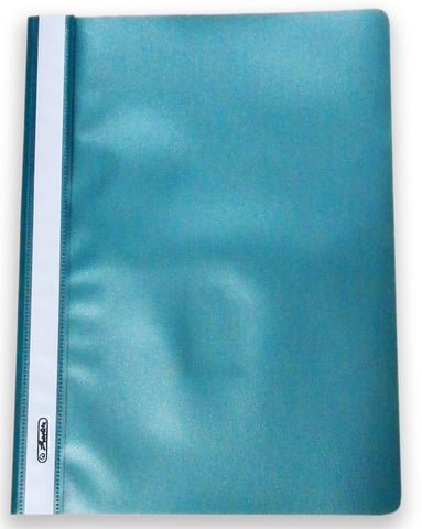 A4 Flat File PP - Teal