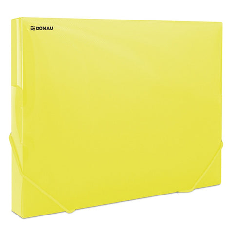 Elasticated Coolbox 3cm A4 - Yellow
