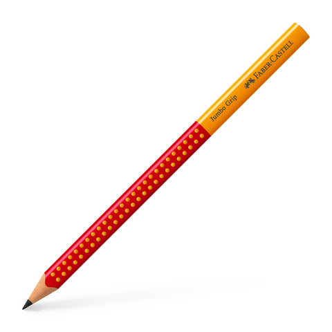 Grip JUMBO Pencil/Two Tone Red