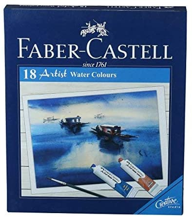FC - Creative Studio - Water Colour Tubes Starter Set - 18 Assorted Colours x 9ml