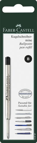 Refill Ballpoint Pen Black - B/Blister Card